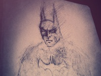 Dark Knight - Late Night Sketch