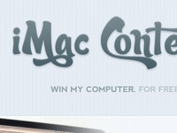 Free iMac Contest NOW OPEN!