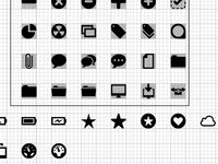 Pictogram Icon Set