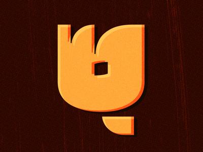 Letter «Q»  q latin font typeface type ogonyok glyph Шрифт Огонёк Латиница