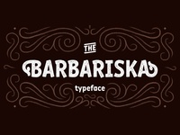 Typeface Barbariska