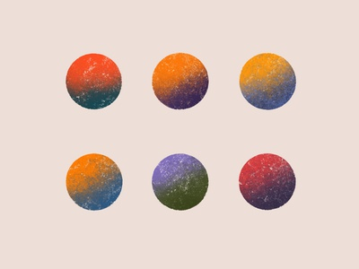 Planets artwork textures minimalist modern flat illustration planets planet