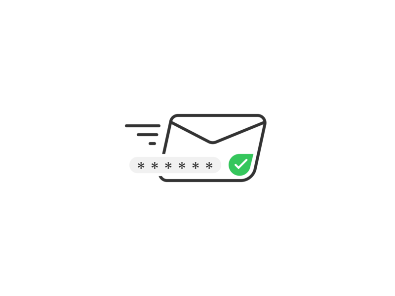 New PIN Code vector ui pixel perfect outline figma icon e-mail mail pin code