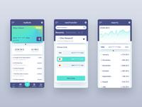 myBank - Mobile Banking App Concept
