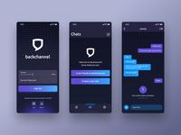 Backchannel - Blockchain Chat App