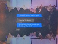 Sunday Invite Text