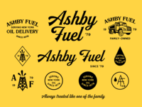 Ashby Fuel Branding Specimen - WIP