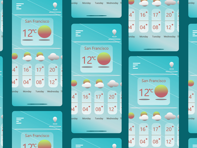 Weather mobile app weather apps designers uidesign ui ui elements mobile apps