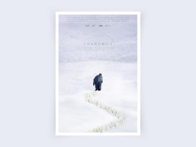 """Poster for shortfilm """"Chamomile"""""""