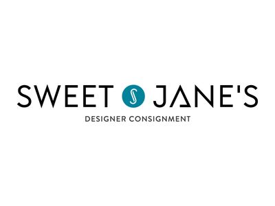 Sweet Jane's Logo marc jacobs chanel coach massachusetts worcester logo branding fashion clothing designer consignment