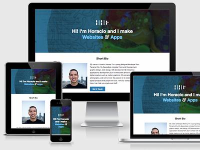 personal website website responsive clean portfolio