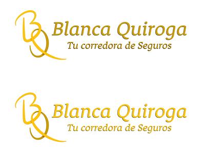 Blanca Quiroga reBrandind (Type Color Test) branding logo identity