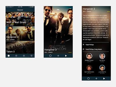 Movie App wip ui app movies