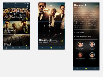 Movie App v2 wip ui app movies