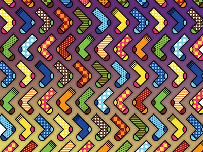 testing socks background