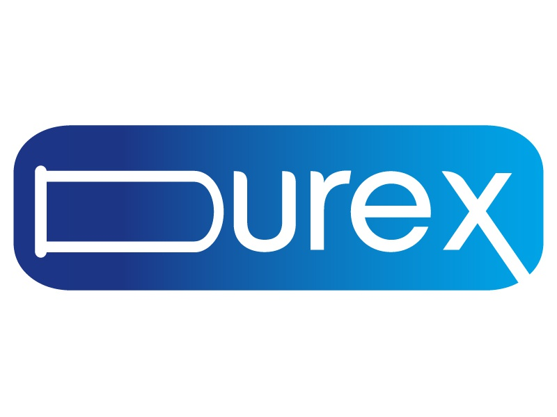 Durex logo Recreated art identity clean illustrator vector typography type minimal logo lettering illustration icon flat design