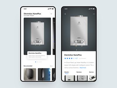 A practice app design ux ui
