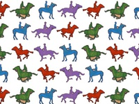 Horseback Riding Pattern