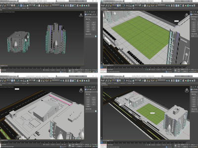 University 3d university 3dsmax 3d توضيح design التصميم