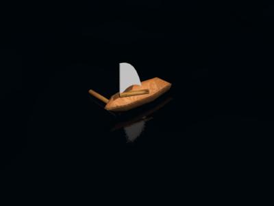 Boat 3d 3dsmax 3d design التصميم