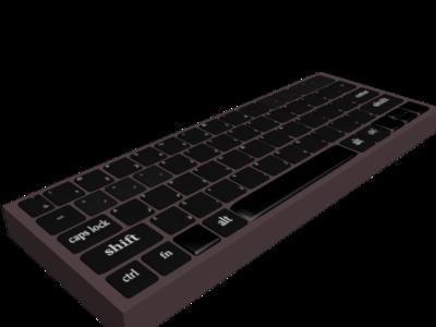 keyboard 3d 3dsmax 3d design التصميم