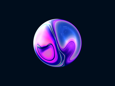 Sphere loading loader ai ui design circle space clean animation sphere motion motion design