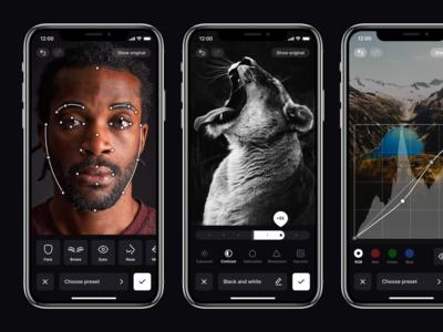 Photo Editor — iOS app