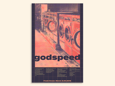 Poster #1 poster art poster trends poster design music poster frank ocean printmaking vintage halftone poster