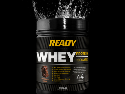 Package design for Ready fitness package design sports package design package design supplement package design