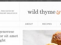 wild thyme & ...
