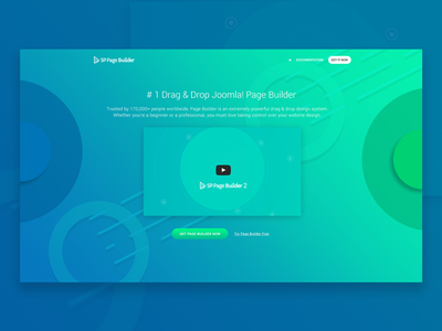 Landing Page For SP Page Builder 2