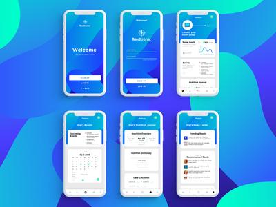 Diabetes App UI