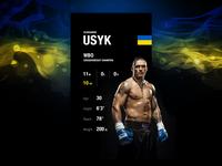 Boxing Profile—Daily UI #006