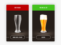 Beer Status Messages—Daily UI #011