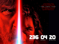 Star Wars: The Last Jedi premiere countdown—Daily UI #014