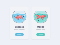 Daily UI 11 - Flash Message - Goldfish