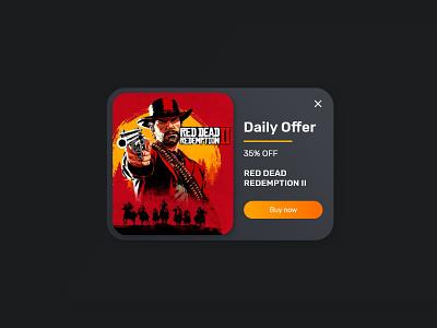 Daily UI 36 - Special Offer special offer offer website web flat ui ux minimal design