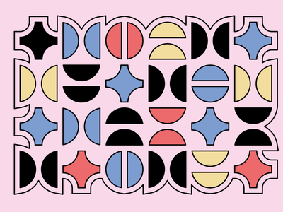 Abstract 5/5 illustration vector flat minimal design abstract art abstract abstract design