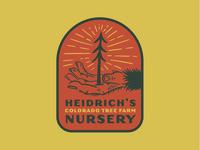 Heidrich's Colorado Tree Farm Nursery - Sticker