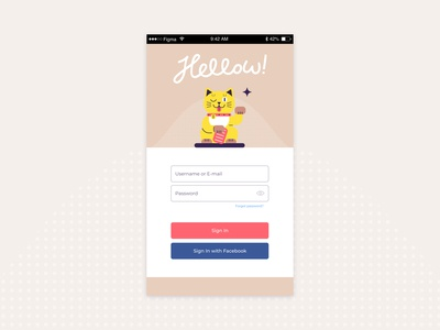 DailyUI #1 – Sign Up Page