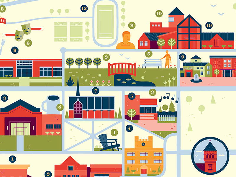 Lebanon Valley College Campus Map.Lebanon Valley College Map By Alexander Vidal Dribbble Dribbble
