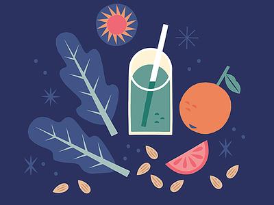 Juicing icon design juicing lifestyle illustration healthy eating illustrated food food illustration illustration
