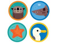 Ocean Icons