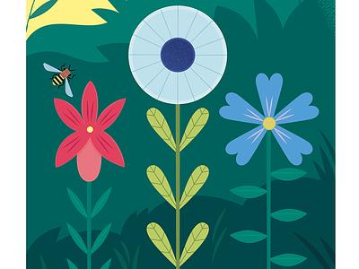 Spring Flowers gardening nature design vector illustrated flowers flower illustration flowers illustration botanical spring