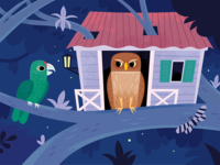 Iguaca and the Owl