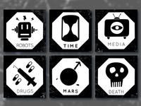 False Matters Icons