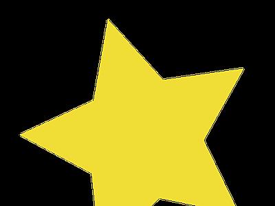 yellow star yellow design illustration gravit designer