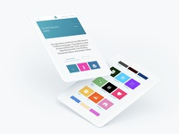ACP Decisions web design - tablet