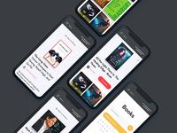 Diversion Books Responsive Design - mobile