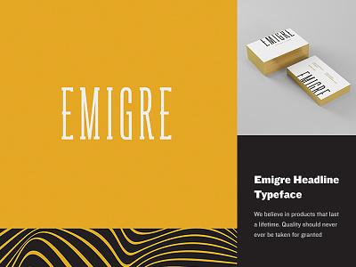 Emigre Branding gold design logo branding hotel quito ecuador graphic design print business cards
